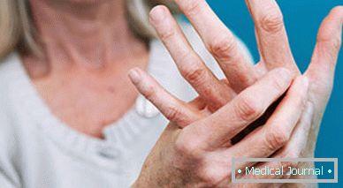az ízület megnagyobbodott az ujján, és fáj