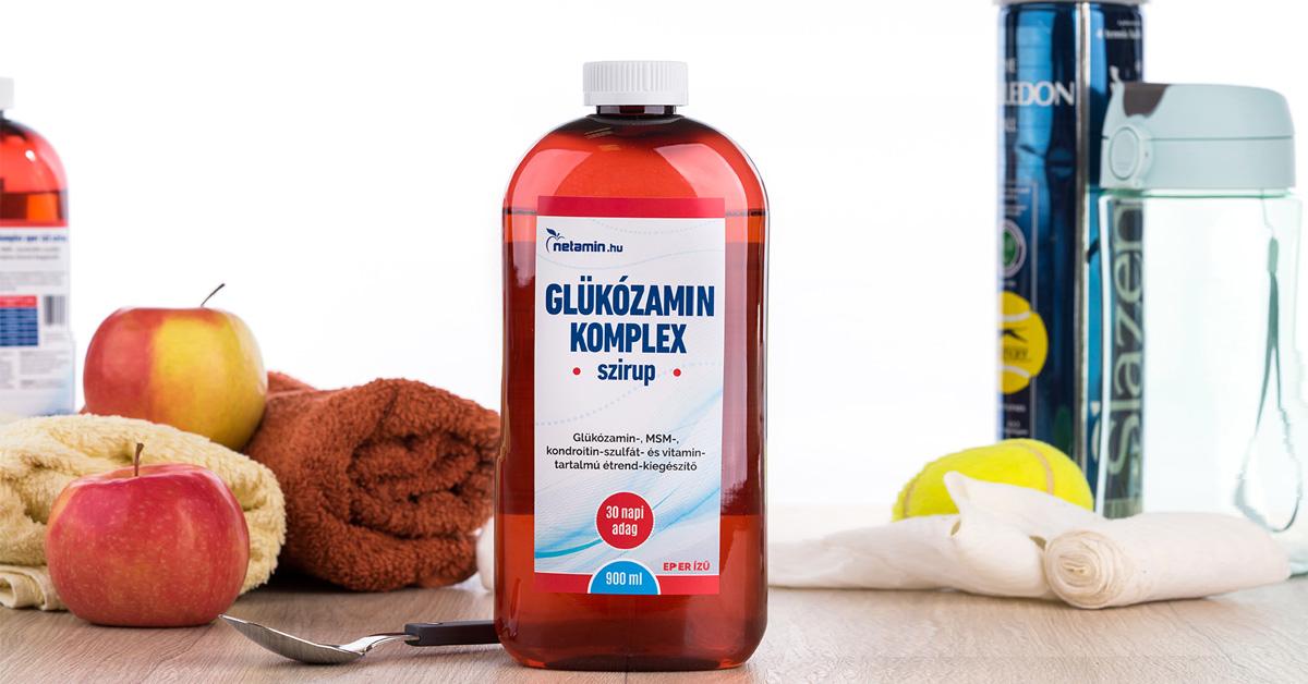 glükozamin-kondroitin folyadék