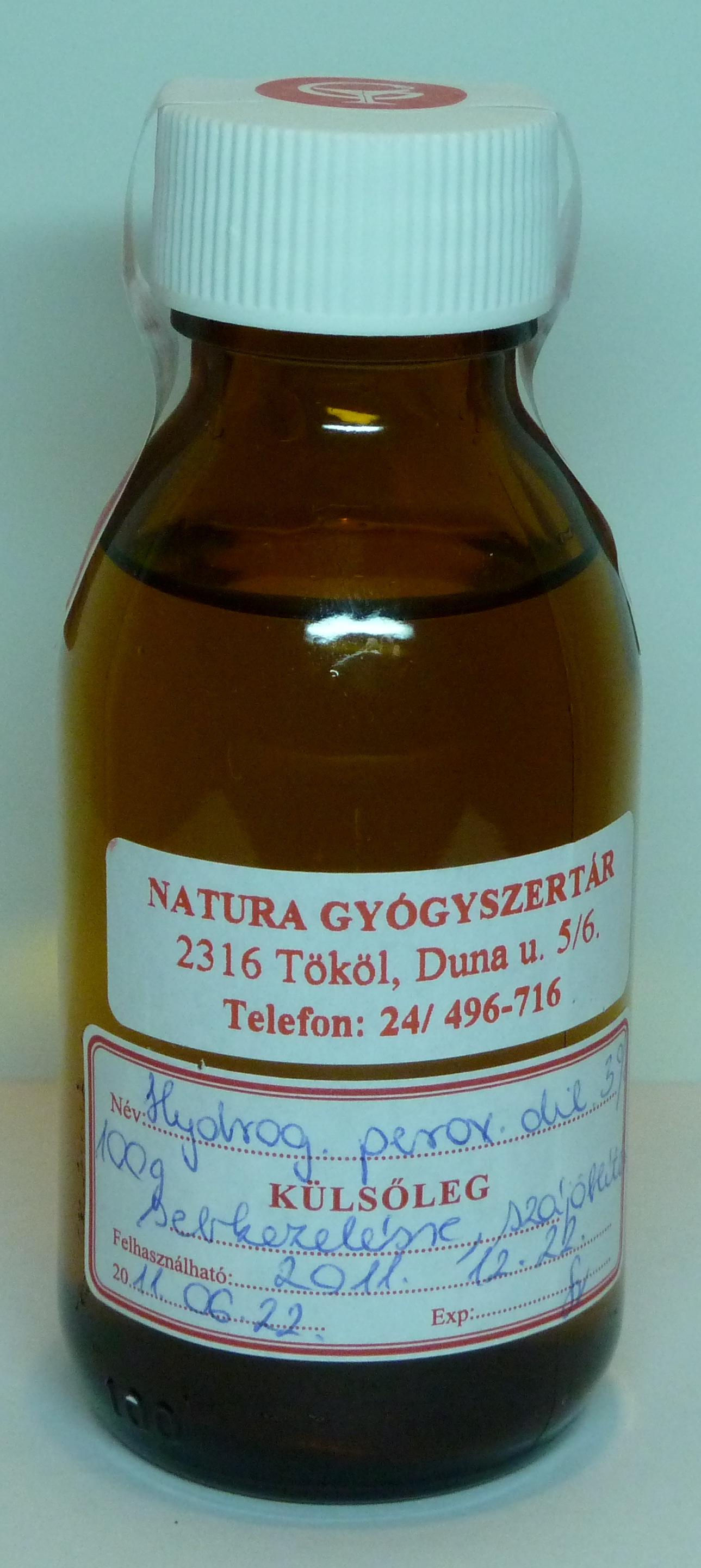 artrózisos kezelés hidrogén-peroxiddal