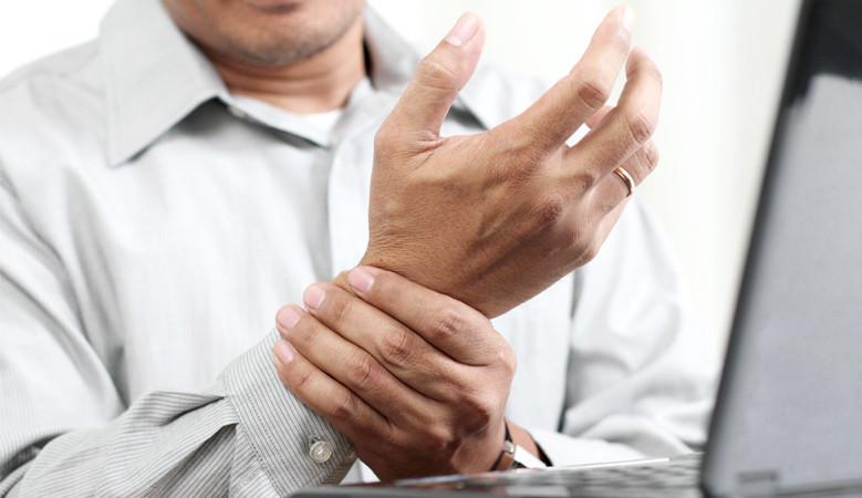 csukló-ín sérülés az alsó hasfájás a csípőízületre