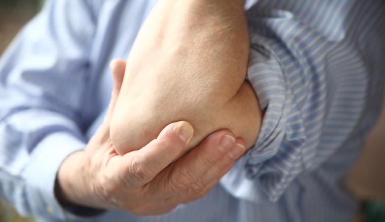terhelés alatt a könyökízület fáj