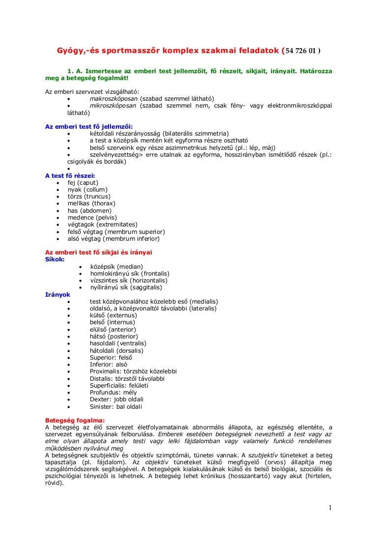 A gerinc túlmozgékonyság - Dr. ORMOS GÁBOR PhD