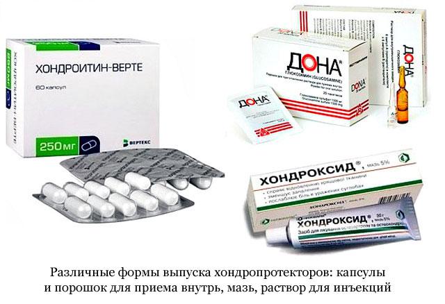 chondroprotektorok ízületek gyógyszeres listájához