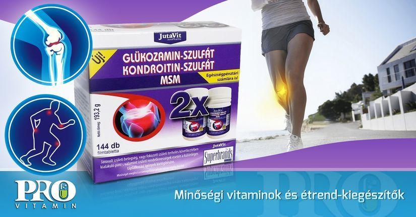 glükozamin-kondroitin por ár