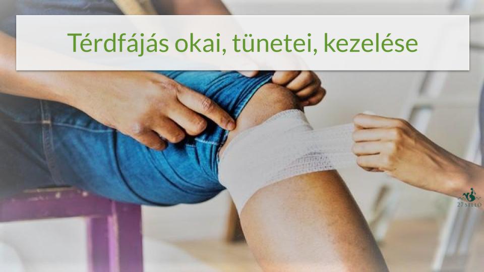 hogyan lehet enyhíteni a térd duzzanatát a sérülés után