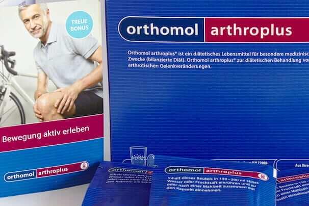 Orthomol Arthroplus ‒ Orthomol arthroplus – Erfahrungsbericht